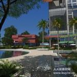 G套最新全模场景源文件 全模型渲染素材 建筑效果图模型素材