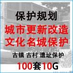 历史文化名城古镇古村 旧址 遗址 保护规划改造更新 文本项目资料