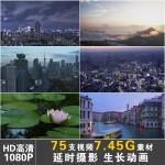 HD企业宣传片广告微速延时摄影大自然美景城市美景影视实拍素材