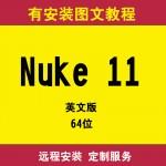 Nuke11.0英文版远程安装服务